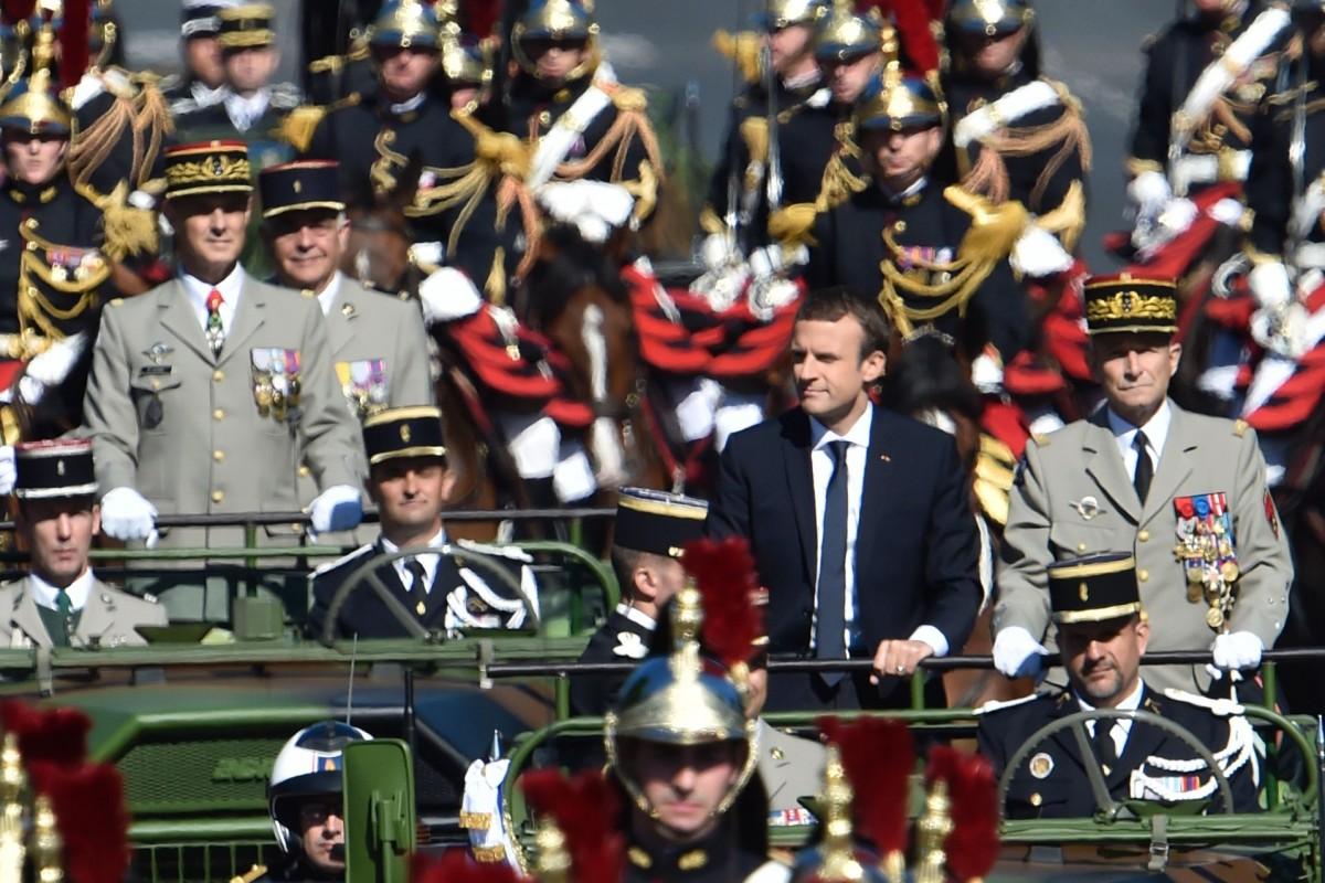 Frankreich zelebriert seinen Nationalfeiertag