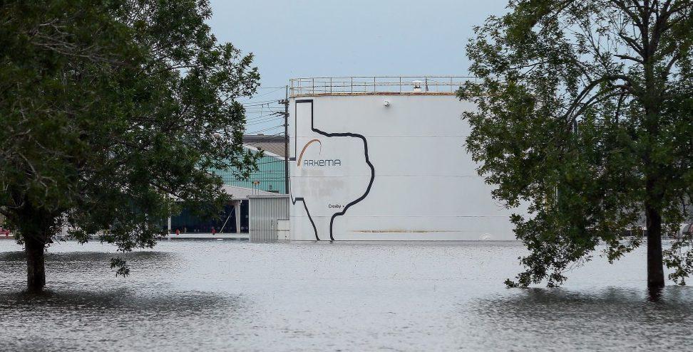 Drohende Explosion in überschwemmter Chemieanlage in Texas