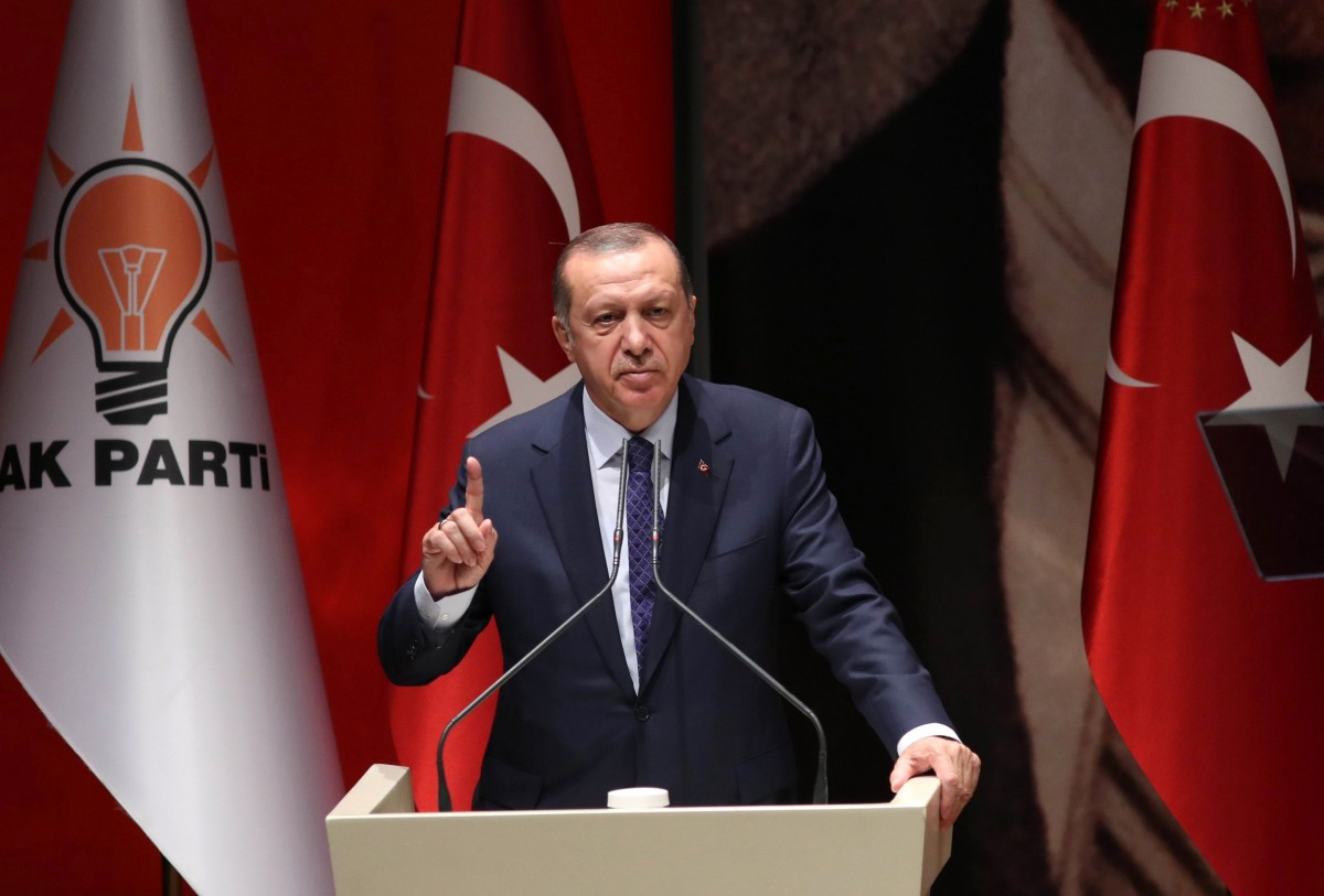 Erdogan an Gabriel: