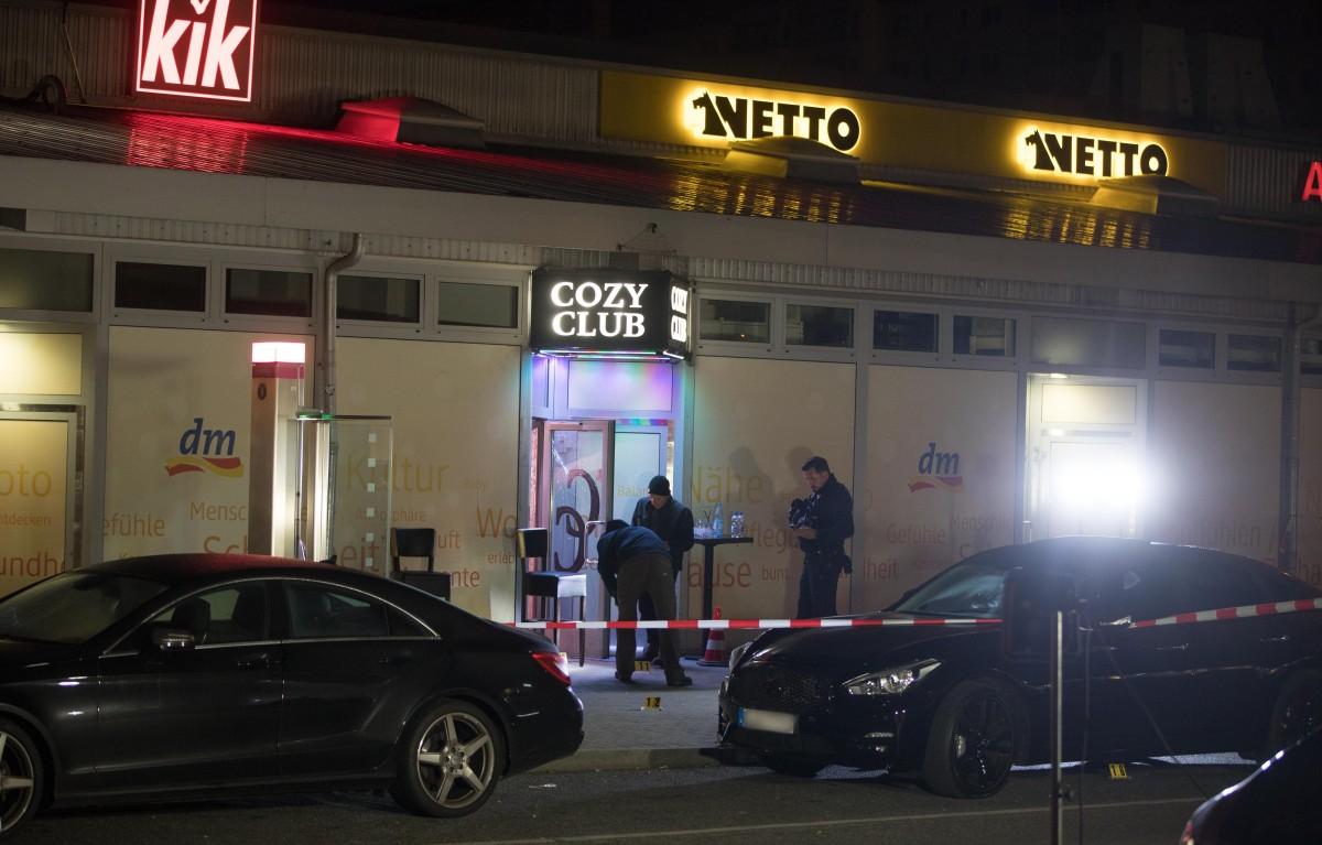 Tödliche Schüsse vor Berliner Disco