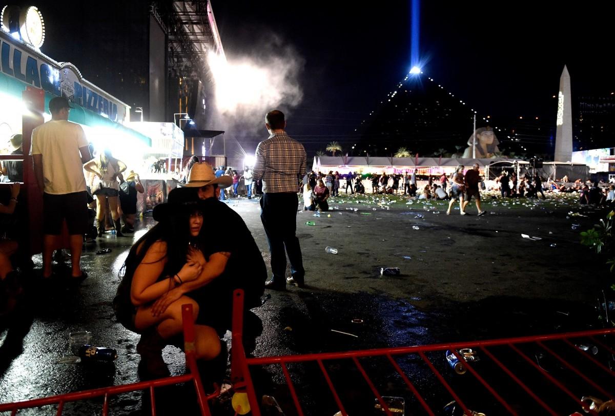Nach Schussattentat in Las Vegas Sprengstoff sichergestellt