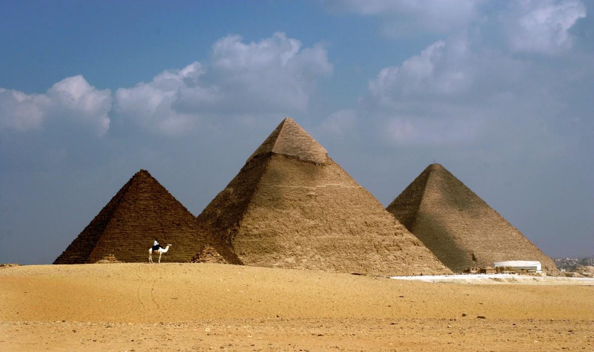 Cheops Pyramide Hohlraum