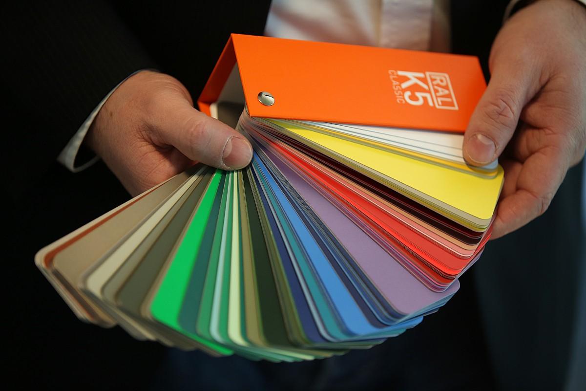 Welt Der Farben Ral System Wird 25