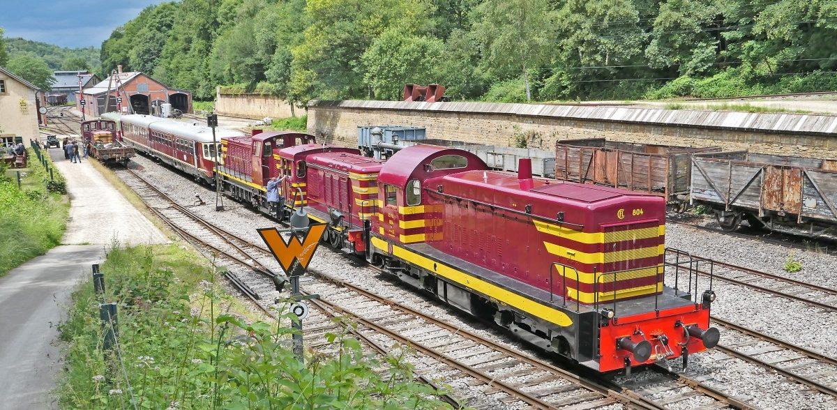 Dieseltag bei Train 1900: In Fond-de-Gras blieben die Kessel kalt ...