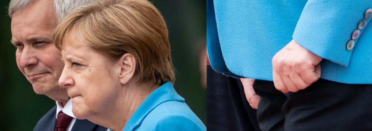 Merkel Zittern