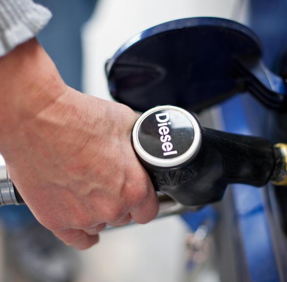 Der Lada das Gas das Benzin