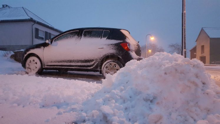 schneechaos im norden