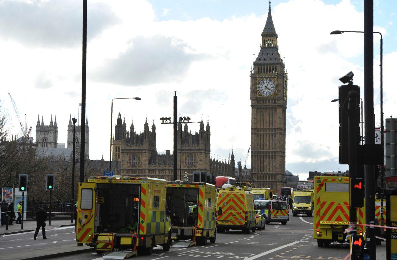 schüsse britisches parlament