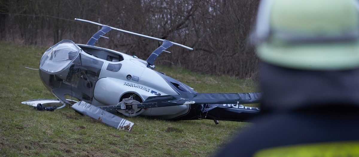 Hubschrauberabsturz Koblenz