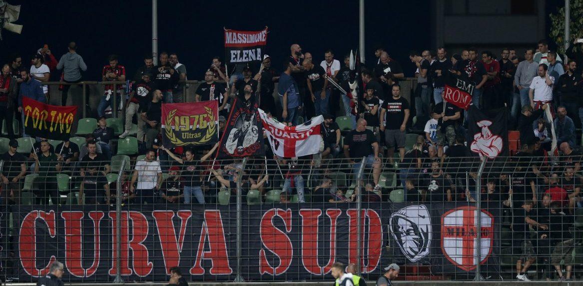 Fans des AC Mailand in Luxemburg
